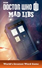 Doctor Who Mad Libs by Inc. Price Stern…