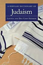 A Popular Dictionary of Judaism by Lavinia…