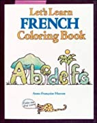 Let's Learn French Coloring Book…