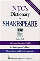 NTC's Dictionary of Shakespeare by…
