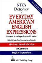 NTC's Dictionary of Everyday American…