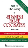Prado, Marcial: NTC's Dictionary of Spanish False Cognates