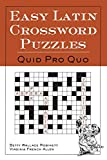 Allen, Virginia French: Easy Latin Crossword Puzzles: Quid Pro Quo