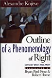 Kojeve, Alexandre: Outline of a Phenomenology of Right