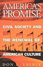 America's Promise: Civil Society and…