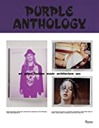 Purple Anthology: Art Prose Fashion Music…