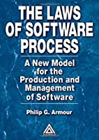The Laws of Software Process: A New Model…
