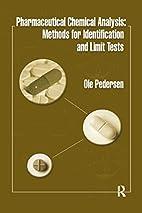 Pharmaceutical Chemical Analysis: Methods…
