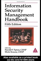 Information Security Management Handbook,…
