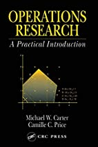 Operations research a practical introduction…