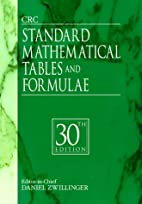 CRC Standard Mathematical Tables and…