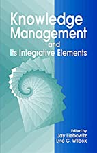 Knowledge Management and its Integrative…