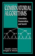 Combinatorial Algorithms: Generation,…