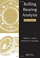 Rolling Bearing Analysis, Fifth Edition - 2…
