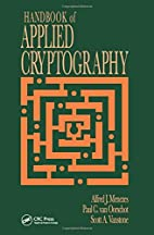 Handbook of Applied Cryptography (Discrete…
