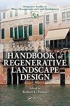 Handbook of Regenerative Landscape Design…