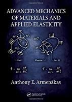 Advanced Mechanics of Materials and Applied…