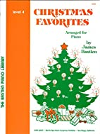 Christmas Favorites, Arranged for Piano by…