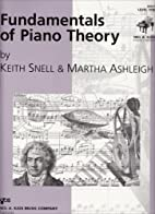 Fundamentals of Piano Theory: Level 1 by…