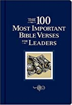 The 100 Most Important Bible Verses for…