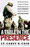 Cash, Carey: A Table in the Presence