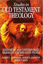 Studies in Old Testament theology by Robert…