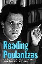 Reading Poulantzas by Alexander Gallas