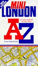 A to Z of London Mini Street Atlas by…