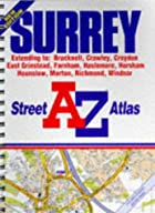 A-Z Surrey Street Atlas by Geographers' A-Z&hellip;