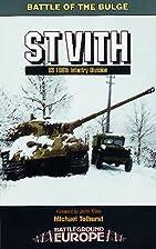 Saint Vith: Us 106th Infantry Division…