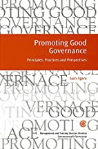 Promoting Good Governance: Principles,…