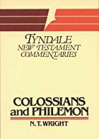 Colossians and Philemon (Tyndale New…