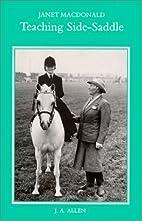 Teaching Side-Saddle by Janet MacDonald
