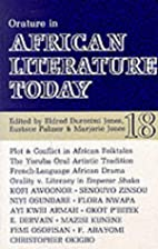 Orature in African literature today : a…
