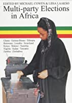 Multi-party elections in Africa by Michael…