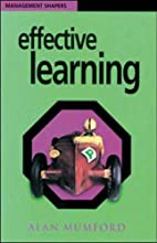 Effective Learning (Management Shapers) by…