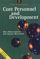 Core Personnel and Development (People &…
