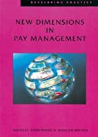 New Dimensions in Pay Management (Developing…