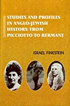 Studies and Profiles in Anglo-Jewish…