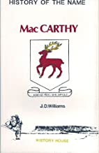History of the Name McCarthy by J. D.…