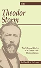 Theodor Storm: The Writer as Democratic…