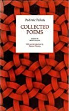Collected Poems by Padraic Fallon