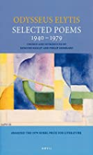 Odysseus Elytis: Selected Poems 1940-1979 by…