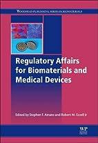 Regulatory Affairs for Biomaterials and…