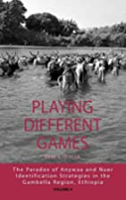 Playing Different Games - The Paradox of…