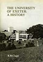 The University of Exeter: A History by B. W.…