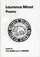 Poems Of Lawrence Minot (UEP - Exeter…
