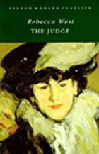 The Judge. by Rebecca West