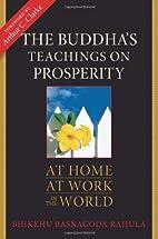 The Buddha's Teachings on Prosperity:…