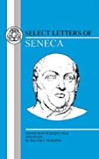 Select Letters of Seneca by Lucius Annaeus…
